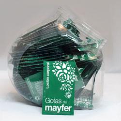 Sobres de loción Gotas de Mayfer