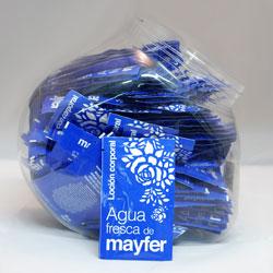 Sobres de loción Agua Fresca de Mayfer